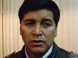 Exdiputado del MAS y director distrital de la Agencia Estatal de Vivienda en Chuquisaca