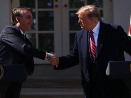 Presidentes de Brasil y EEUU