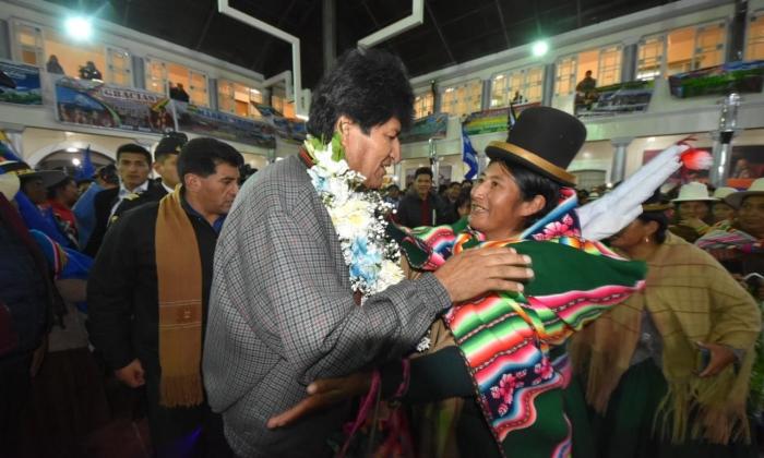 Morales desembolsa Bs 123,3 millones para iniciar 61 proyectos en Oruro