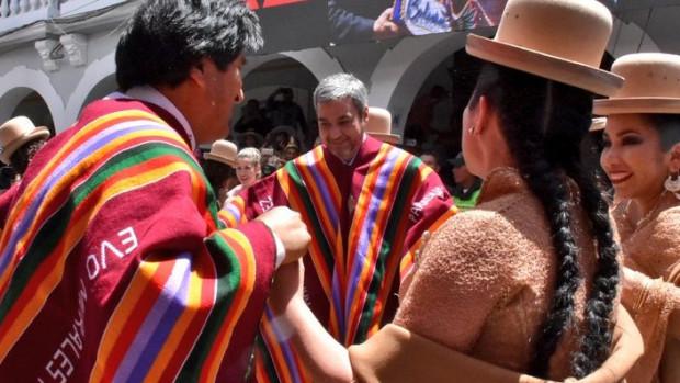 Abdo quedó maravillado con el Carnaval de Oruro