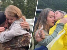 """Niñas de 5 y 8 años sobrevivieron """"de milagro"""" tras pasar 44 horas perdidas en un bosque de California"""