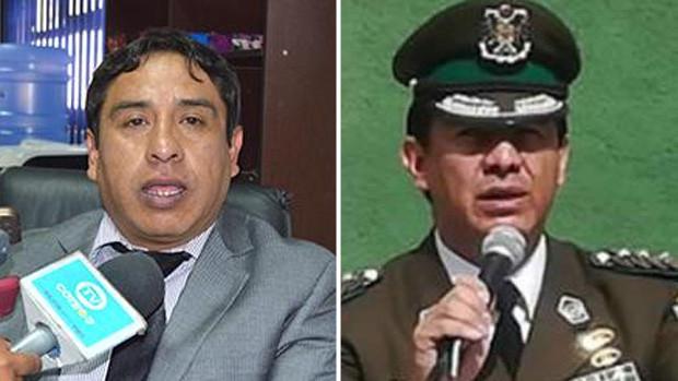 Juez envía a la cárcel a Rommel Raña, excomandante policial de Oruro