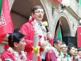 Candidato presidencial de Bolivia Dice No