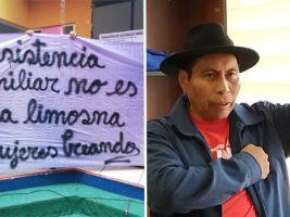 """Madre del hijo del Viceministro Machaca: """"Tengo miedo, él maneja magistrados"""""""