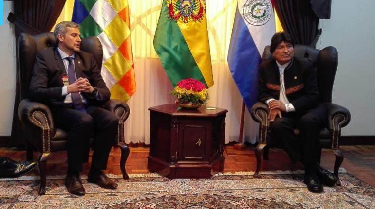 Bolivia y Paraguay firman acuerdo para venta de gas; anuncian Gabinete Binacional en La Paz