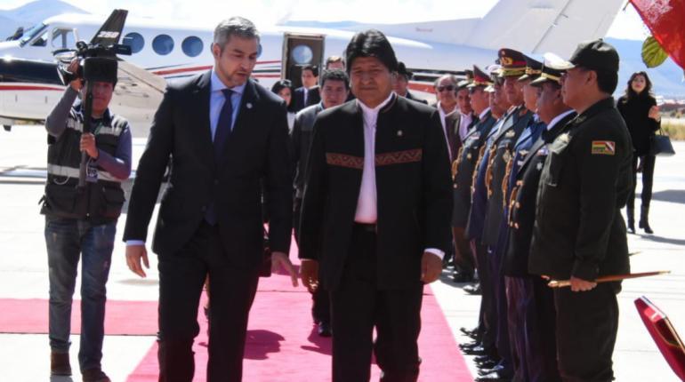 Pary: Es el mejor momento de las relaciones bilaterales Paraguay-Bolivia