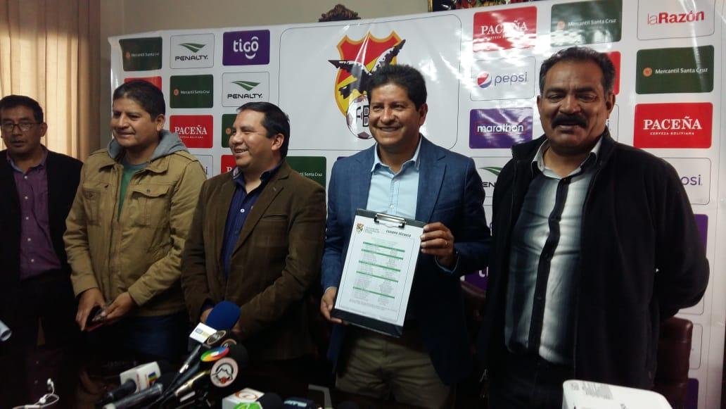 Villegas cita a 23 jugadores para los encuentros amistosos entre Bolivia, Corea y Japón