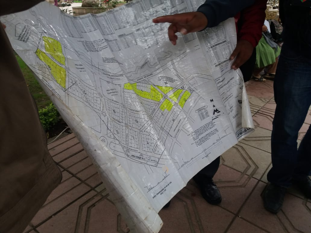 Vecinos del barrio Las Flores siguen rechazando proyecto de viviendas sociales en Tarija