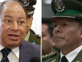 Ministro de Gobierno y ex comandante de Policía