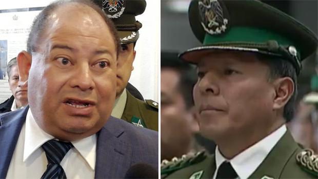 General Delgado revela que excoronel Medina fue ratificado en la Felcc por orden del ministro Romero
