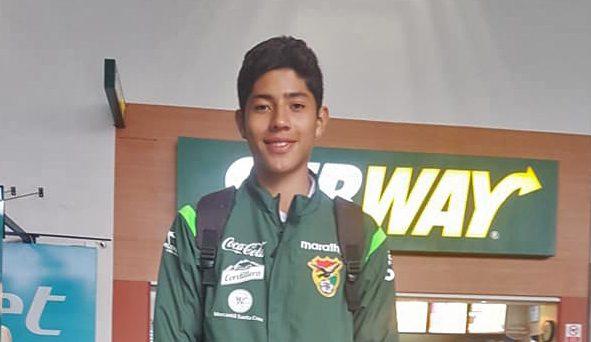 El chapaco Eynar Osorio se encuentra en Croacia con la Sub 15