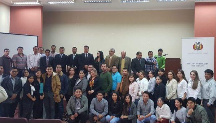 Funcionarios del Ministerio Público de Tarija se capacitan en el nuevo modelo de gestión fiscal