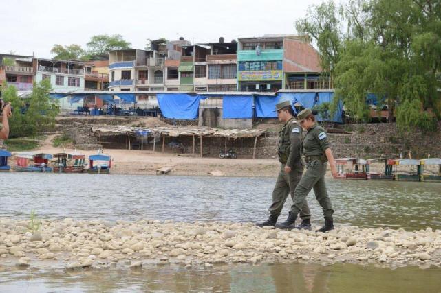 Gendarmería incautó 40 kg de coca tras enfrentamiento con cocaleros en Bermejo