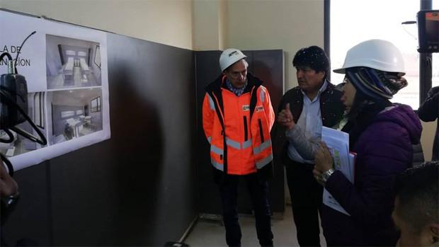 Evo anuncia dos aceleradores para Hospital El Alto Sur