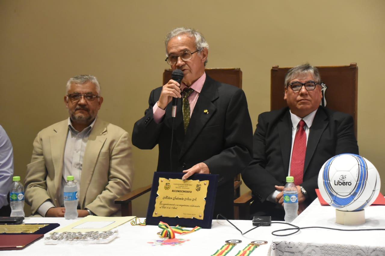 El club 15 de Abril de Tarija fue reconocido por el Ministerio de Deportes