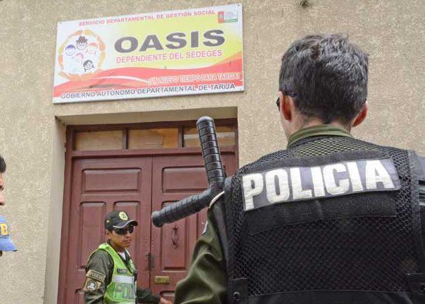 Menores infractores de centro Oasis en Tarija pasan clases humanísticas