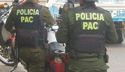 Chofer de tráiler es aprehendido por atropellar a un efectivo policial en Tarija