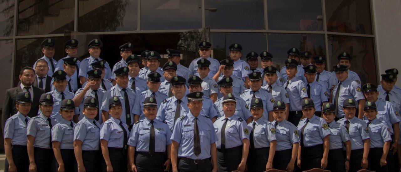 Guardia Municipal de Tarija cumple 31 años al servicio de la ciudadanía