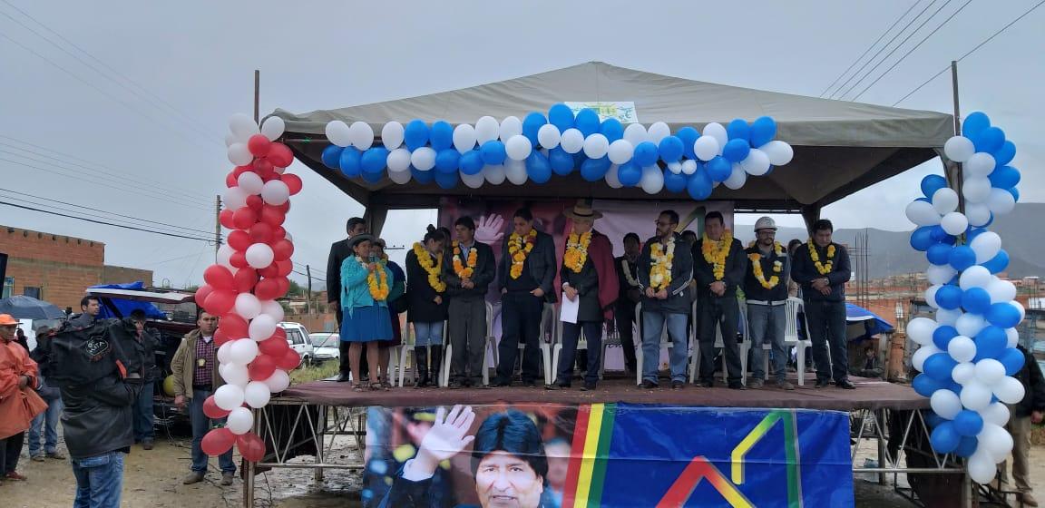 Gobierno entrega más de 70 viviendas en la zona de Santa Rosa de Tarija
