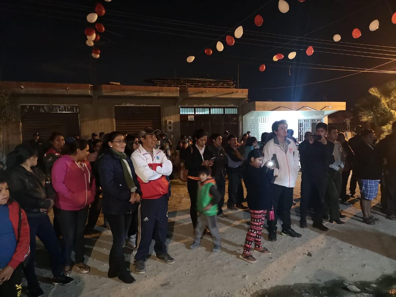 Invertirán más de 8.000.000 de bolivianos en el barrio Portillo Jardín de Tarija para servicios básicos