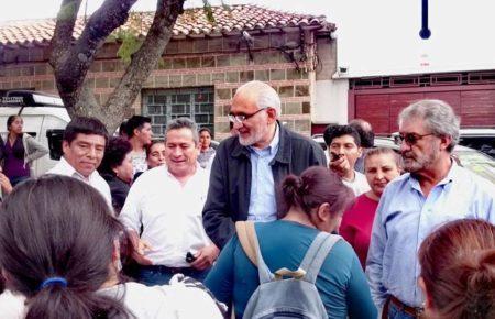 El FRI de Tarija confirma a Carlos Mesa como su candidato a la presidencia del país