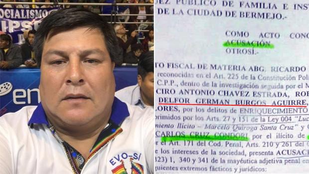 Alcalde de Bermejo amenaza procesar a periodista que reveló caso de corrupción