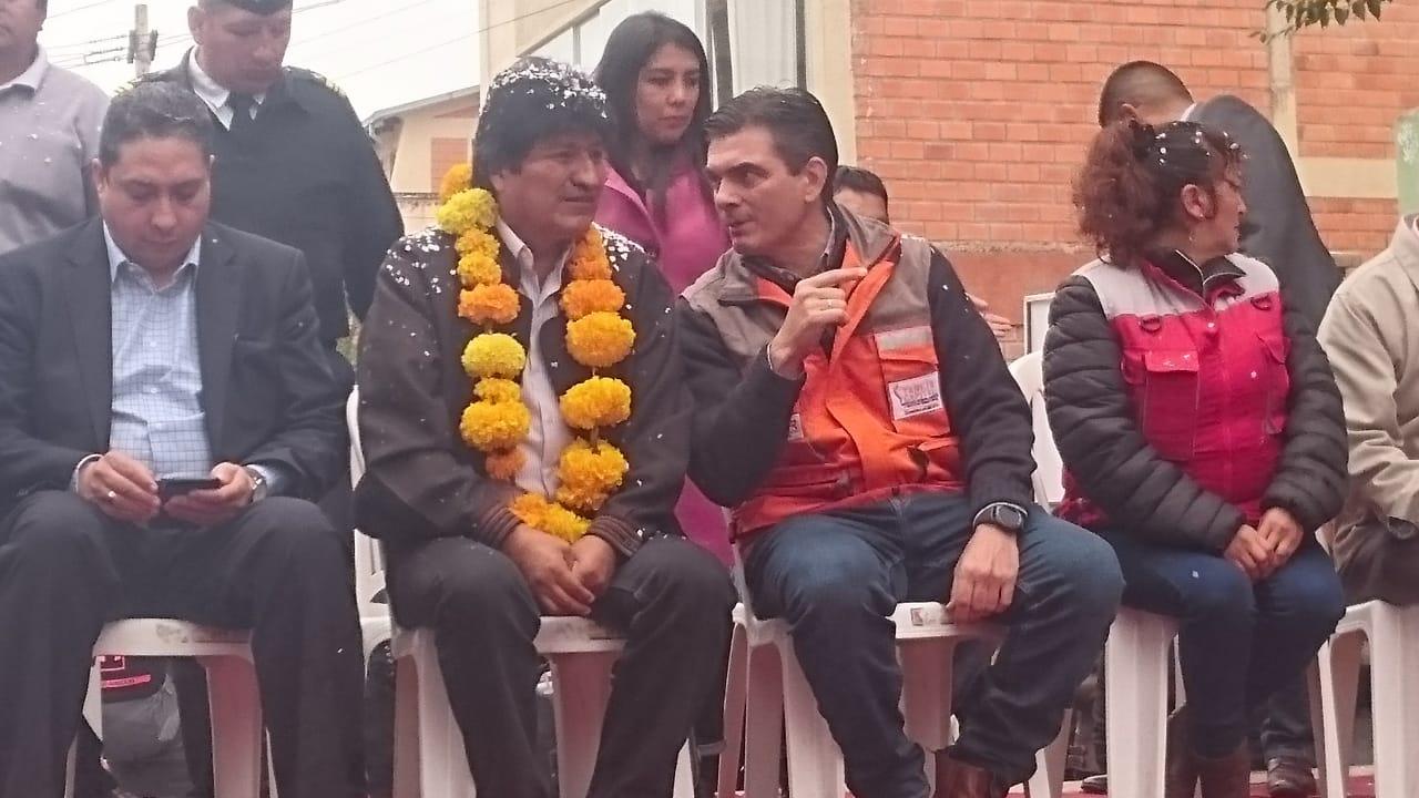 Tarija estrena el nuevo mercado Bolívar, Evo llega a la inauguración