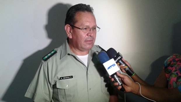 Excoronel Medina declaró que no tiene vínculo ni conoce personalmente a Mesa