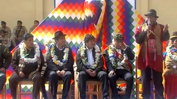 Dirigente campesino pide a Evo gobernar Bolivia hasta que se muera