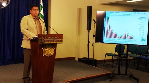 Viceministro aclara que la canasta familiar es 1.600 bolivianos