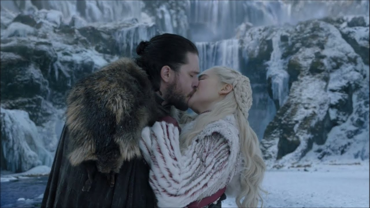 parejas de series: jon snow y daenerys