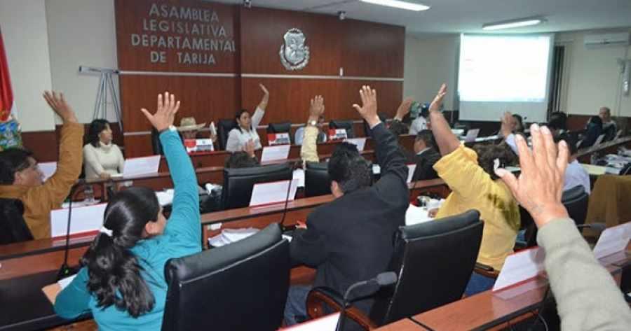 Asamblea aprueba a detalle Ley departamental de gestión de riesgos para Tarija