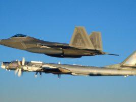 Aviones de EEUU interceptaron a cuatro bombarderos y dos cazas rusos frente a la costa de Alaska