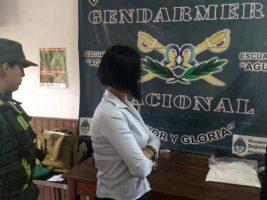 Cae en Argentina una azafata boliviana que llevaba droga