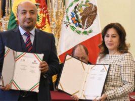 Bolivia y México firman supresión de visas