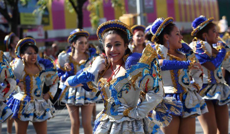 Más de 14 academias de danza de Bolivia y Argentina participarán en el Festival de la Saya y Caporal