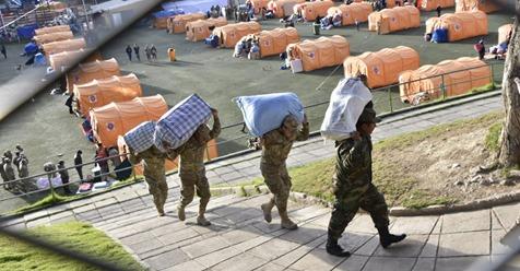 Comienza operativo para la entrega de viviendas a familias afectadas por deslizamiento