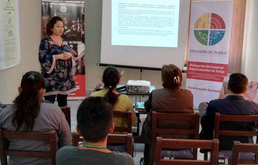 Defensoría del Pueblo presenta propuesta para prevenir la violencia ginecobtétrica en Tarija
