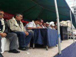 Presidente de Bolivia en Cochabamba