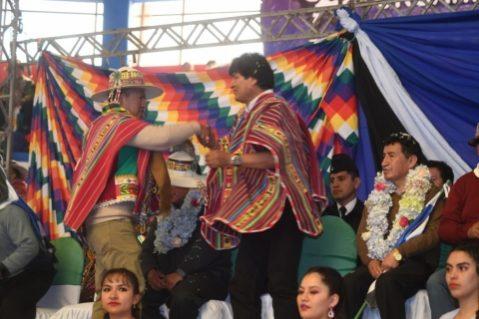 Evo: El programa nace del pueblo no viene del exterior, tenemos que seguir liberando Bolivia