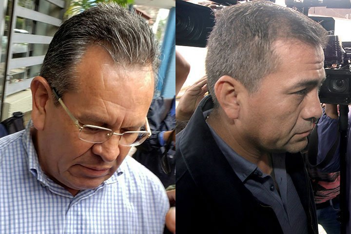 Ordenan que excoronel Medina y excapitán Moreira sean llevados a Palmasola