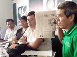 Denuncian amedrentamiento de ministro Romero a periodista de El Deber
