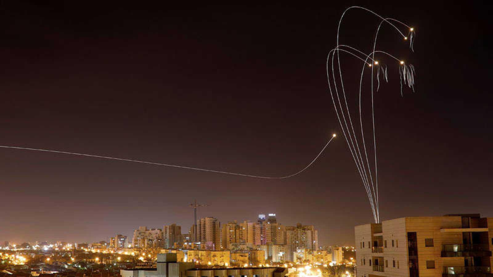 El grupo terrorista Hamas lanzó más de 600 misiles a Israel desde Gaza