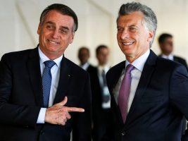 Presidentes de Brasil y Argentina