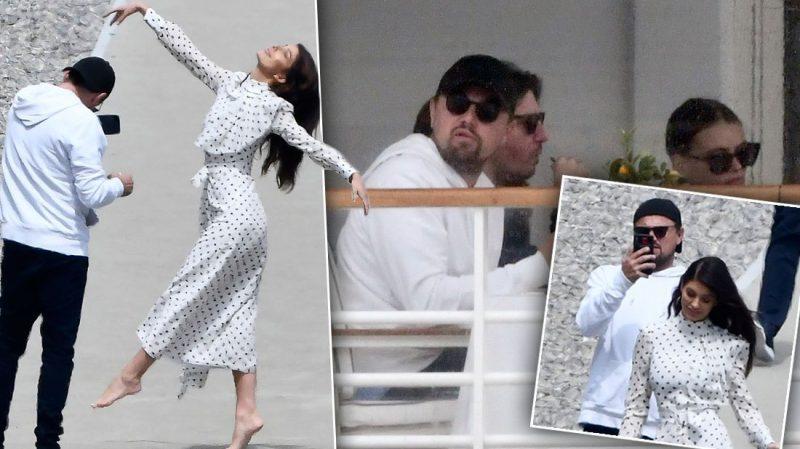 Leonardo DiCaprio se transformó en el fotógrafo personal de su novia Camila Morrone en Cannes