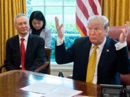 Vicepresidente Chino y Presidente de EEUU