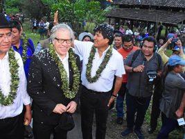 Visita a Bolivia del secretario de la OEA
