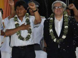 Secretario de la OEA y presidente de Bolivia