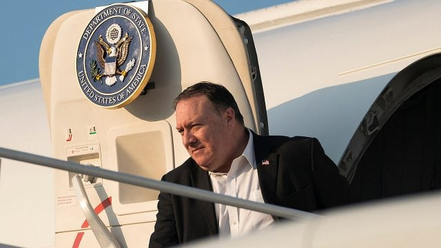 Mike Pompeo llegó a Rusia para hablar sobre Venezuela e Irán con Vladimir Putin