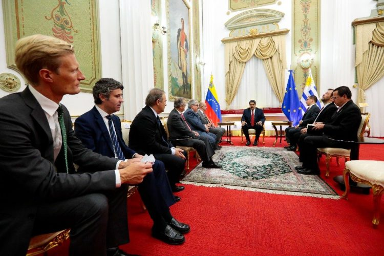 El Grupo Internacional de Contacto se reunió con Nicolás Maduro y se encontrará con Juan Guaidó en Caracas